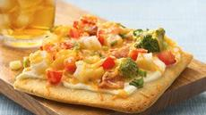 Loaded Baked Potato Pizza Recipe