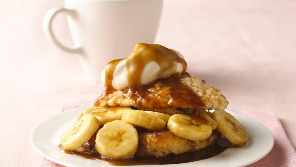 Bananas Foster Biscuit Shortcakes recipe from Pillsbury.com