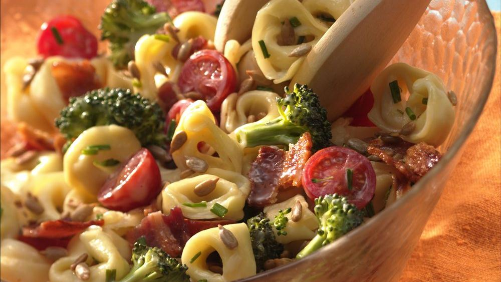 Tortellini, Broccoli and Bacon Salad