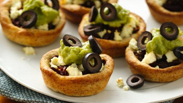 Mediterranean Appetizer Cups