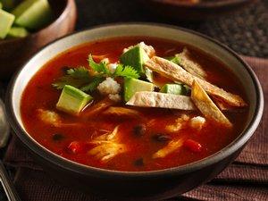 Spicy Chicken Tortilla Soup