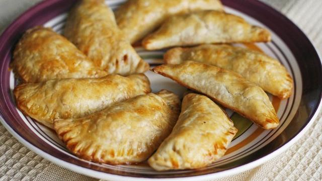 Beef, Potato and Chorizo Empanadas
