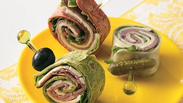Roast Beef and Swiss Tortilla Roll-Ups