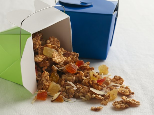 Gingered Cereal Snack Mix