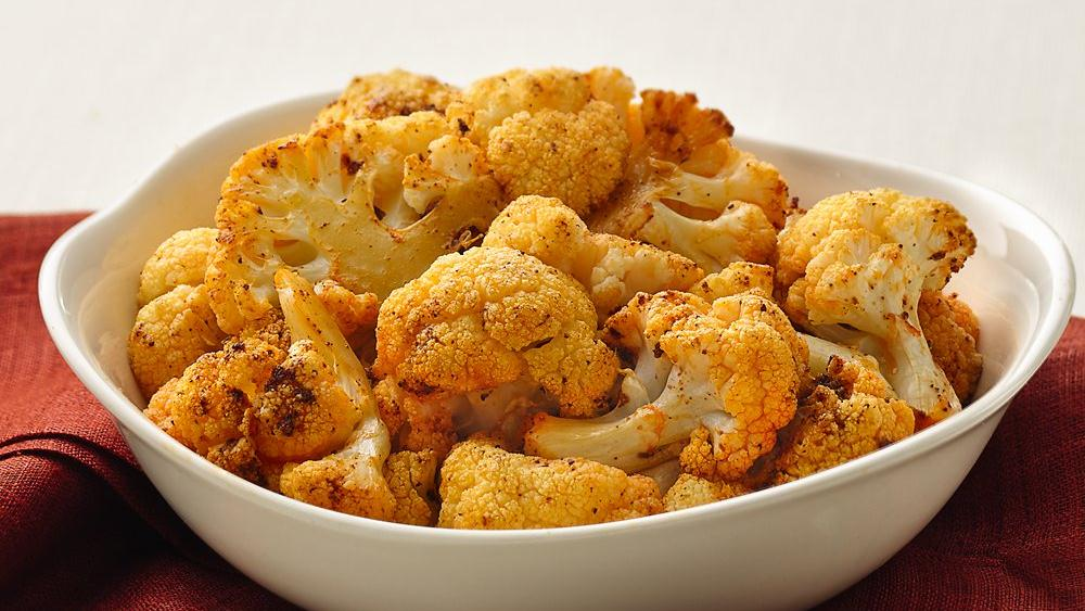 Roasted Seasoned Cauliflower