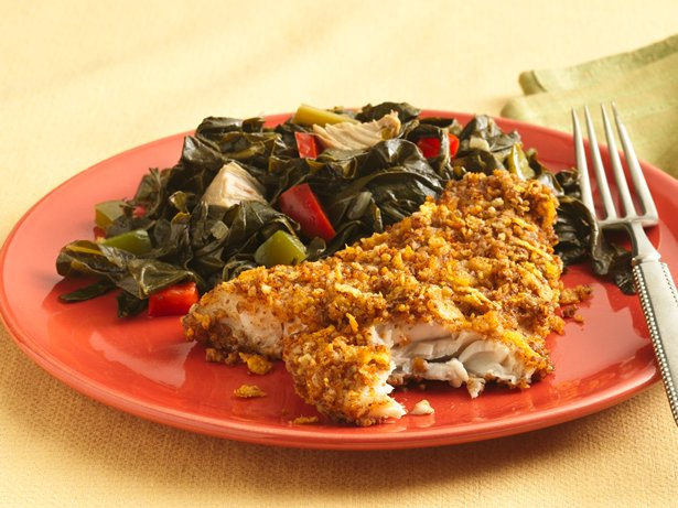 Pecan-Crusted Catfish (Makeover)