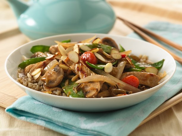 Image of Asian Pork And Vegetable Stir-fry, Betty Crocker