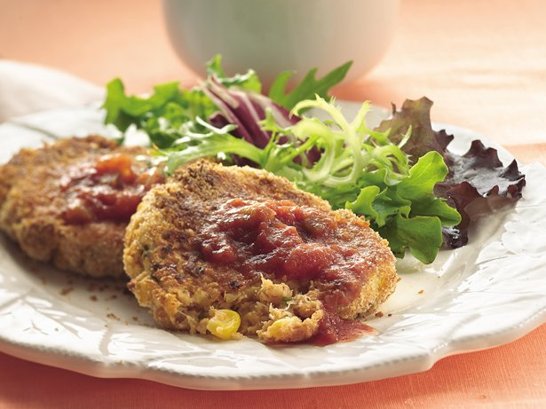 Corn 'n Crab Cakes