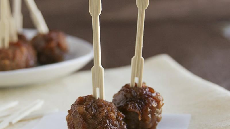 Pineapple Glazed Meatballs