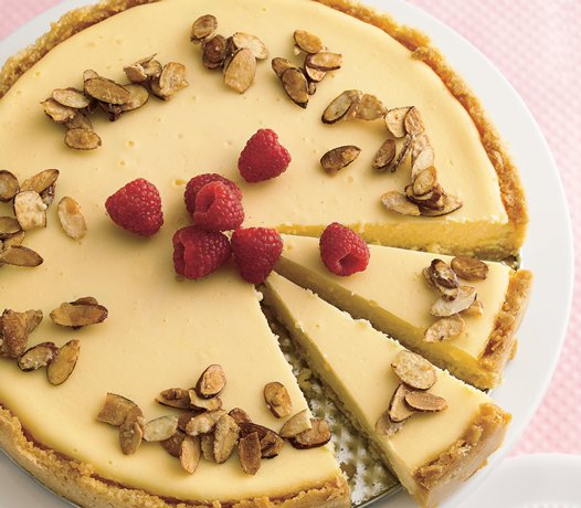 Image of Almond Cheesecake, Betty Crocker