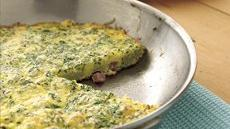 Herbed Ham Frittata Recipe