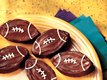 Spiked Football Brownies