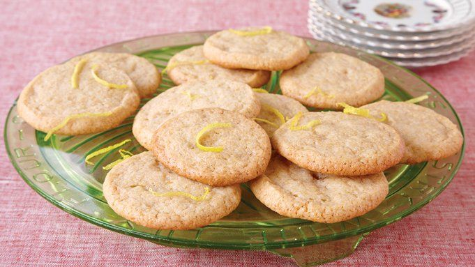 Lemon Icebox Cookies recipe - from Tablespoon!
