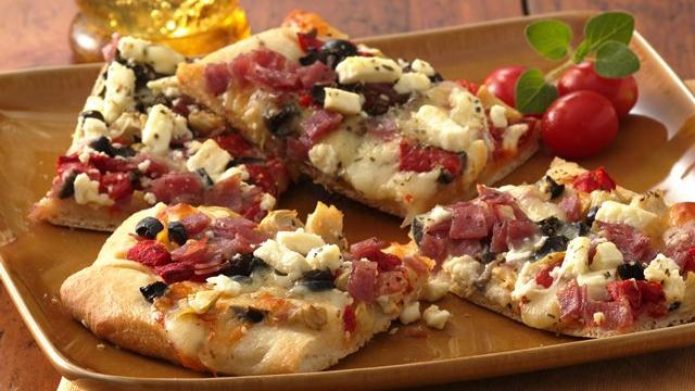 Image of Antipasto Appetizer Pizza, Pillsbury