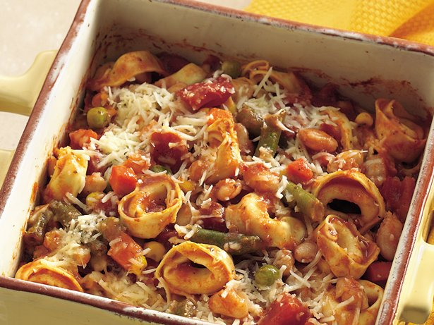Tortellini Minestrone Casserole