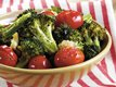 Broccoli with Roasted Garlic and Tomatoes