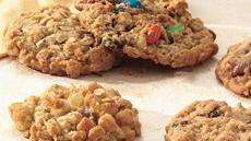 Candy Bar-Oatmeal Cookies Recipe