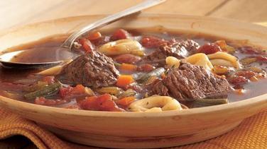 Beef Tortellini Soup