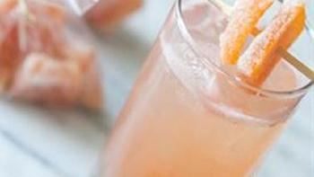 Candied Grapefruit Cocktail