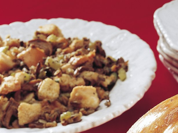 Slow Cooker Sourdough and Wild Rice Stuffing