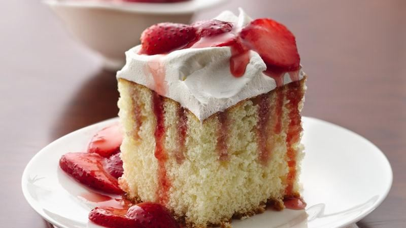 Betty Crocker Strawberry Jello Cake