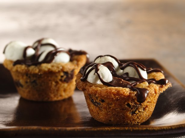 Caramel S'more Cups