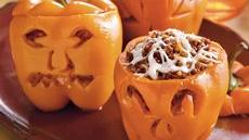 Stuffed Carved Peppers Recipe