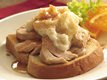 Slow Cooker Open-Face Turkey Dinner Sandwiches
