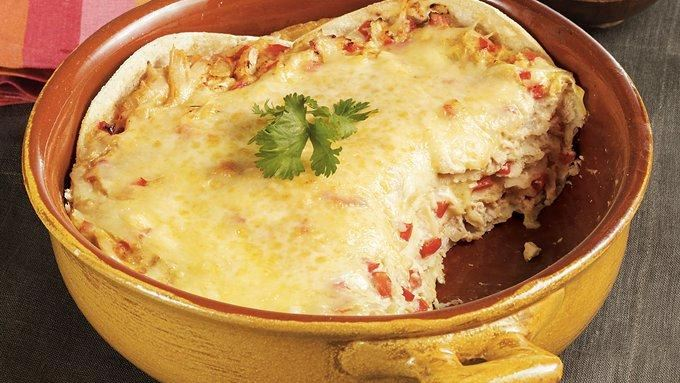 Tortilla Chicken Casserole recipe - from Tablespoon!