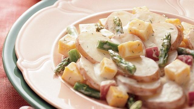 Image of Asparagus-cheese-potato Salad, Pillsbury