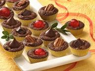 Triple-Chocolate Mini Cups (Cookie Exchange Quantity)