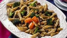 Broccoli-Walnut Mostaccioli Salad Recipe