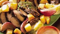 Rump Roast with Winter Vegetables Recipe