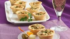 Apple, Blue Cheese and Walnut Tartlets Recipe