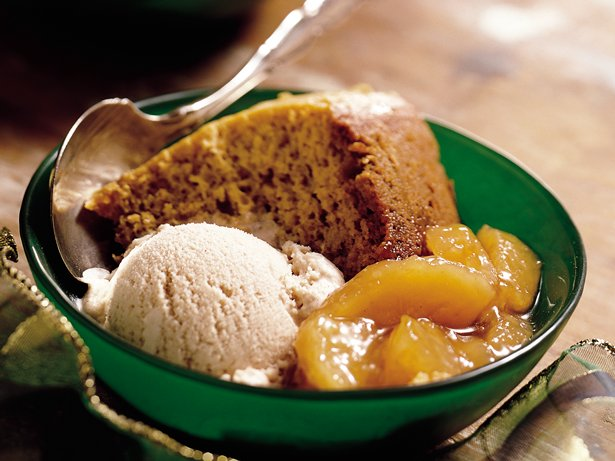 Slow Cooker Pumpkin-Apple Dessert