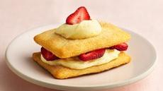Crescent Strawberry Napoleons  Recipe
