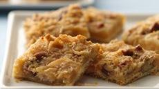 Quick &#39;n Chewy Crescent Bars Recipe