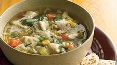 Hearty Chicken Rice Soup Recipe