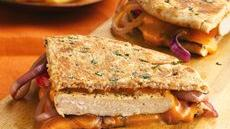 Herbed Chicken and Cheese Panini Recipe
