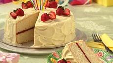 White Chocolate-Buttermilk Layer Cake Recipe