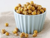 Chili and Lime Roasted Chick Peas