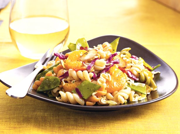 Crunchy Asian Pasta Salad