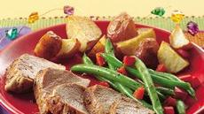 Roasted Herb Pork Tenderloins Recipe