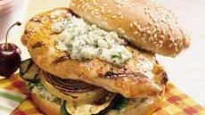Chicken Sandwiches with Gremolata Mayonnaise Recipe