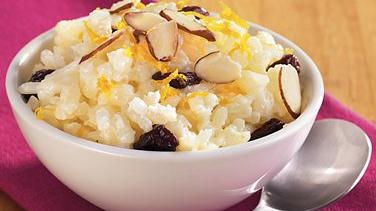 Rice Pudding with Cherries