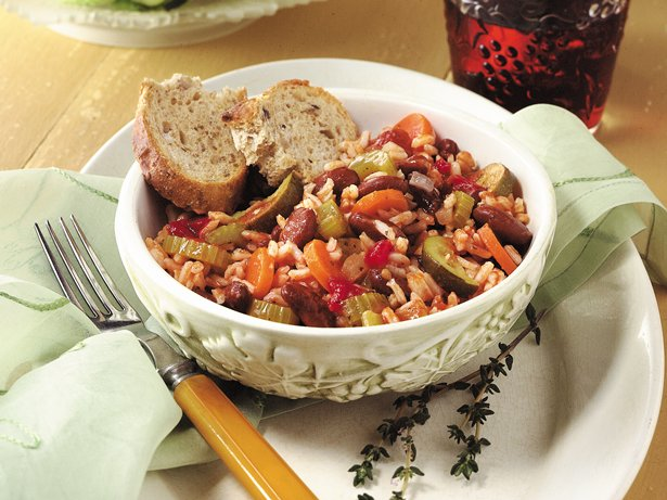 Italian Rice and Veggie Supper