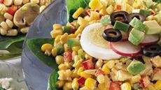 Curried Yellow and White Corn Salad Recipe