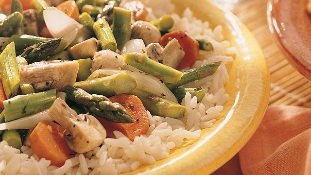Image of Asparagus Stir-fry, Pillsbury