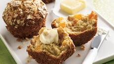 Apricot-Oatmeal Muffins Recipe