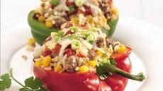 Chipotle Beef-Stuffed Peppers Recipe